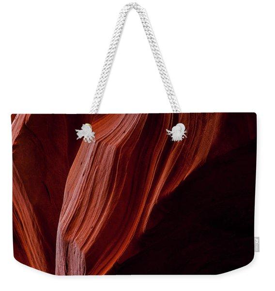 Red Tresses Weekender Tote Bag
