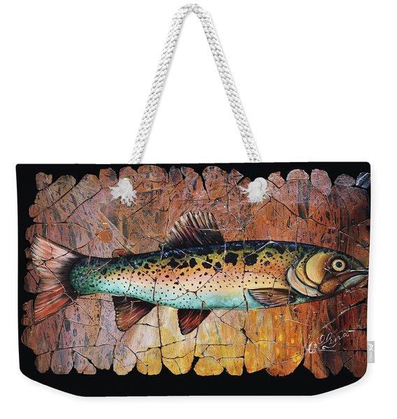 Red Trout Fresco Weekender Tote Bag