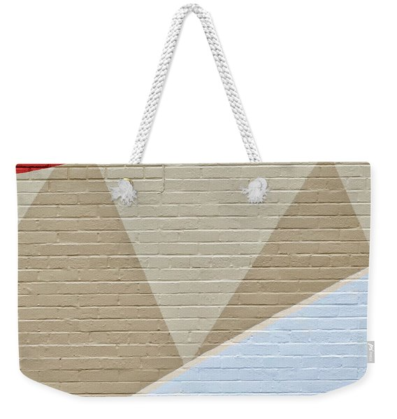 Weekender Tote Bag featuring the photograph U-haul Art by Eric Lake