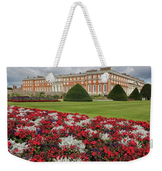 Red White And Blue At Hampton Court Weekender Tote Bag