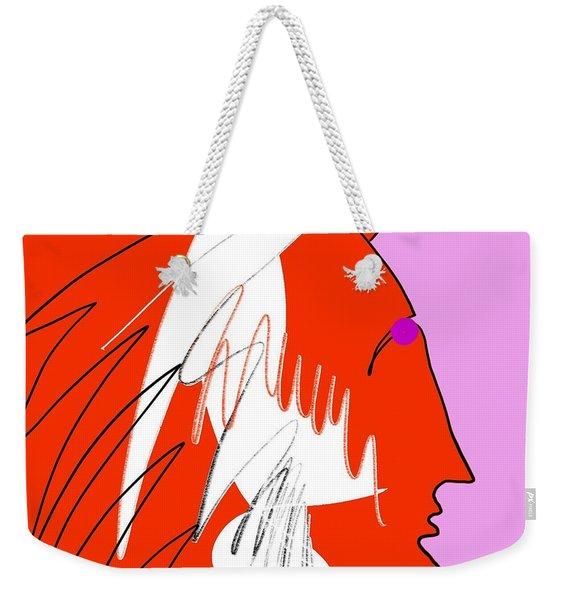 Red Wing Weekender Tote Bag