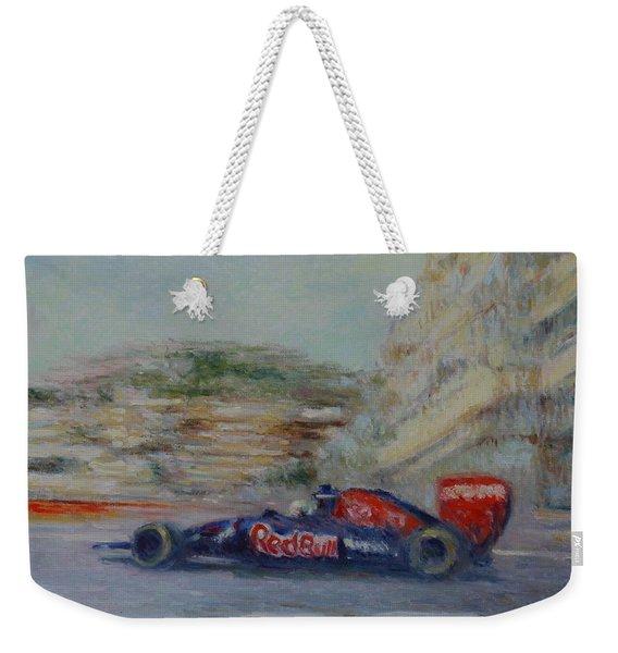 Redbull Racing Car Monaco  Weekender Tote Bag
