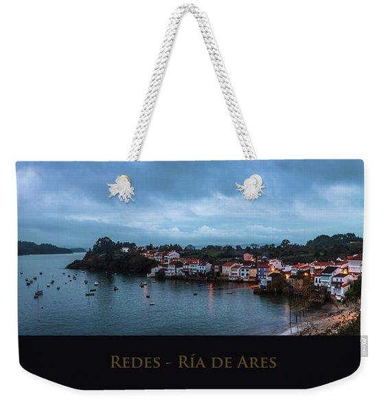 Redes Ria De Ares La Coruna Spain Weekender Tote Bag