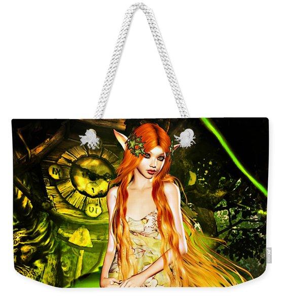 Redhead Forest Pixie Weekender Tote Bag