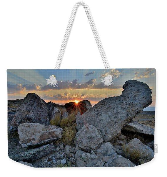Redland Mesa Sunrise In Grand Junction Weekender Tote Bag