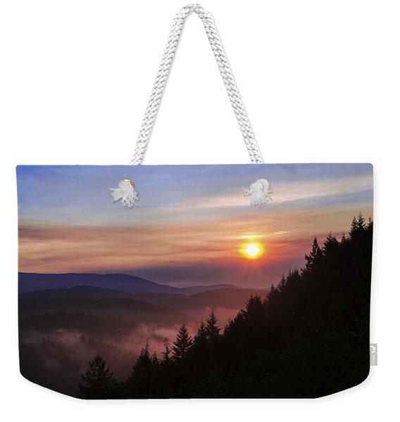 Redwood Sun Weekender Tote Bag