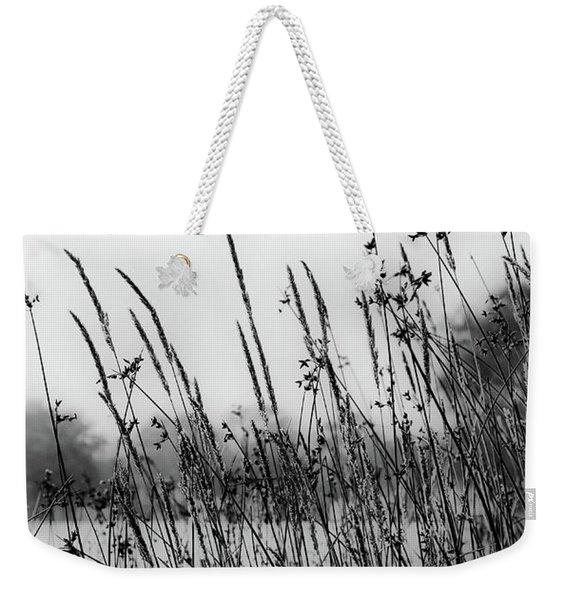 Reeds Of Black Weekender Tote Bag
