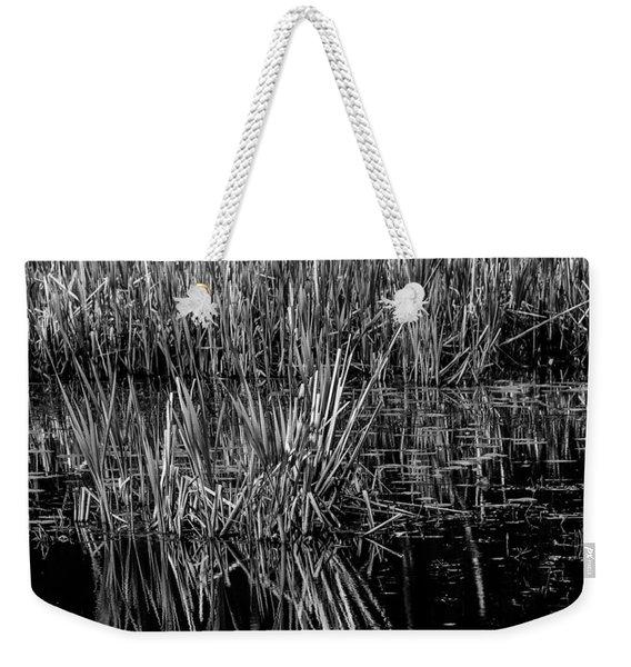 Reeds Reflection  Weekender Tote Bag
