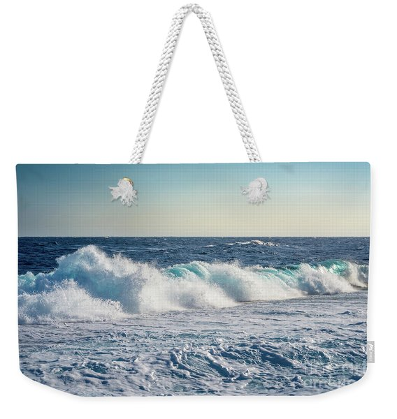 Reef Break On The Morning Light Weekender Tote Bag