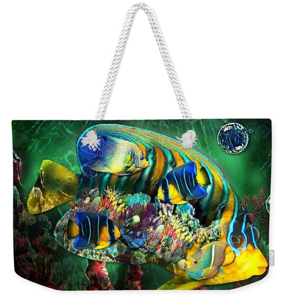 Reef Fish Fantasy Art Weekender Tote Bag