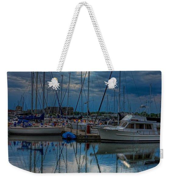Reefpoint Marina Square Format Weekender Tote Bag