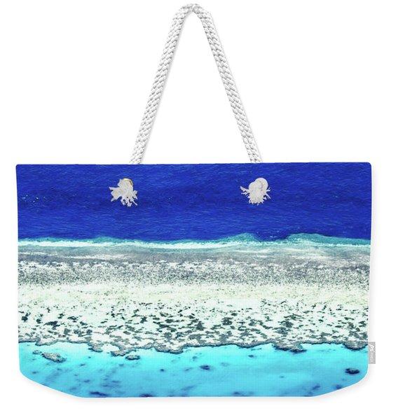 Reefs Edge Weekender Tote Bag