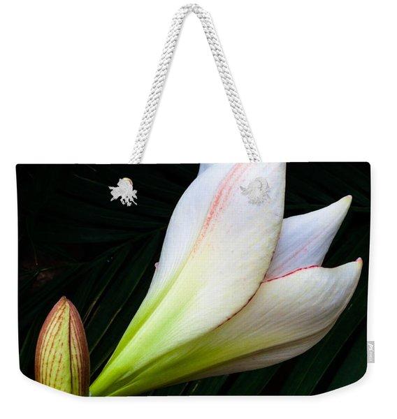 Refined Elegance Weekender Tote Bag