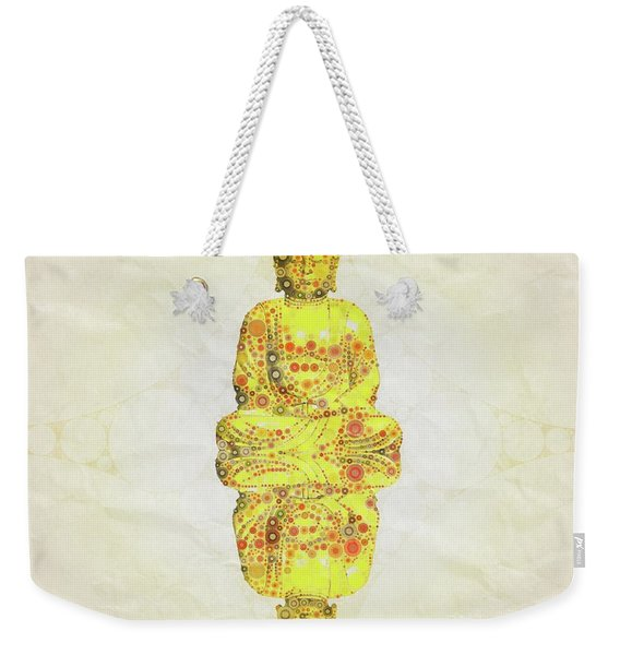 Reflect The Buddha By Mary Bassett Weekender Tote Bag