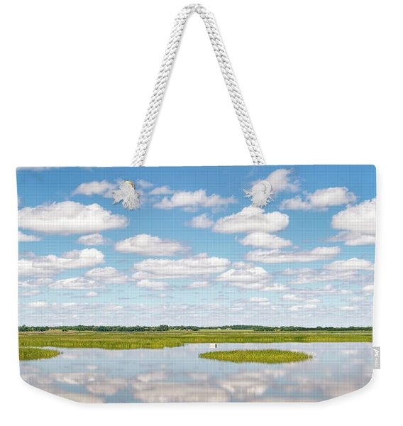 Reflected Clouds - 01 Weekender Tote Bag