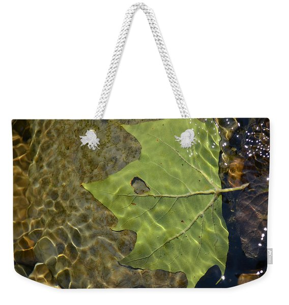 Reflected Indignation Weekender Tote Bag