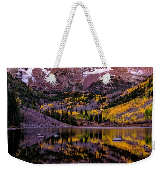 Reflecting Dawn Weekender Tote Bag