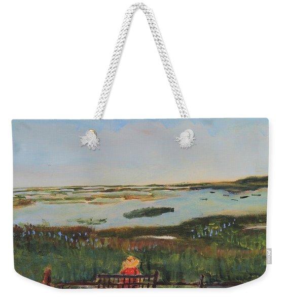 Reflecting Weekender Tote Bag