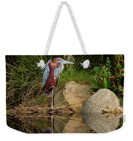 Reflecting On Lunch Weekender Tote Bag