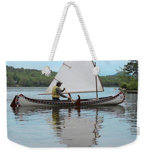 Reflecting On Sailing Weekender Tote Bag