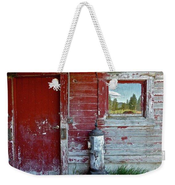 Reflecting The Landscape Weekender Tote Bag