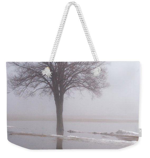 Reflecting Tree Weekender Tote Bag
