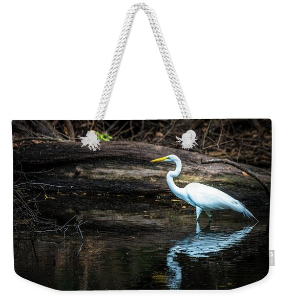 Reflecting White Weekender Tote Bag