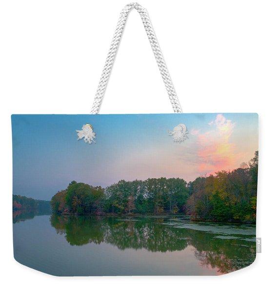 Reflection II Weekender Tote Bag