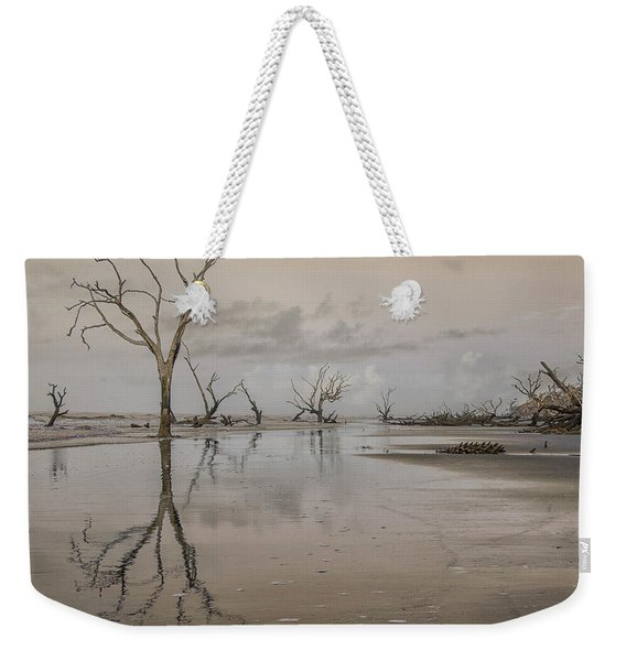 Reflection Of A Dead Tree Weekender Tote Bag