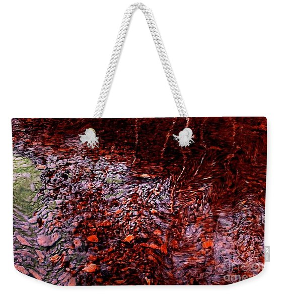 Reflection Of Fall Weekender Tote Bag