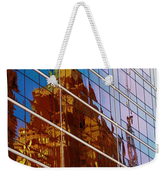 Reflection Of The Past - Tulsa Weekender Tote Bag
