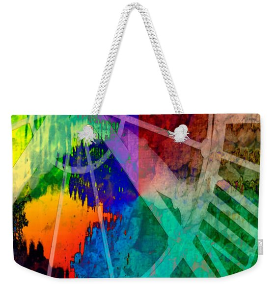 Reflection Of Time Weekender Tote Bag