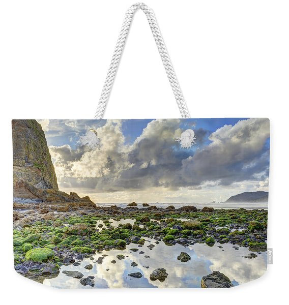 Reflections At Low Tide Hdr Weekender Tote Bag
