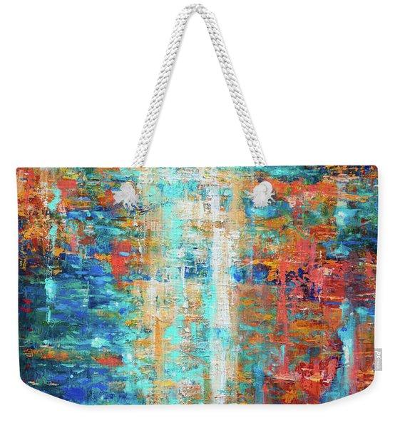 Reflections Dancing On Water Weekender Tote Bag