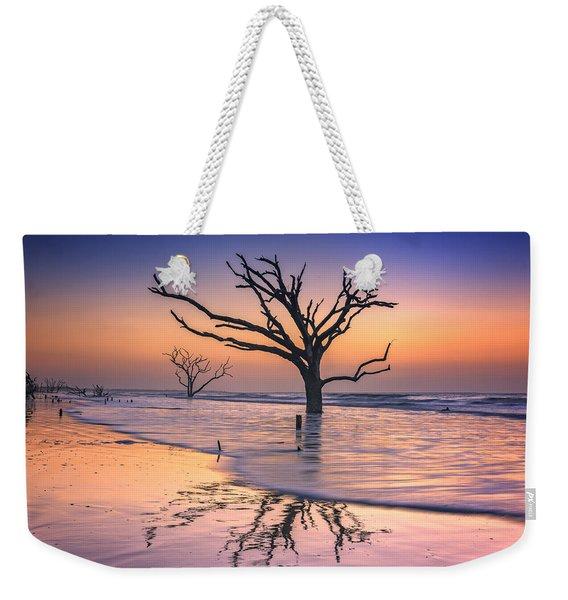 Reflections Erased - Botany Bay Weekender Tote Bag