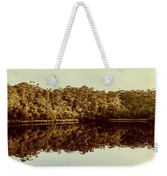 Reflections From Cockle Creek  Weekender Tote Bag