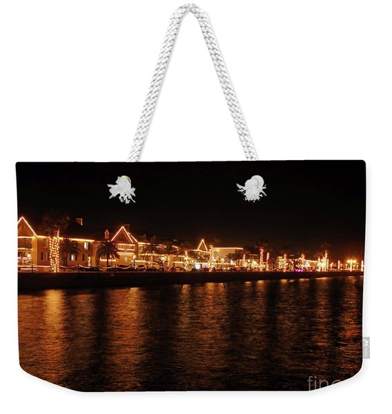 Reflections In The Bay Weekender Tote Bag