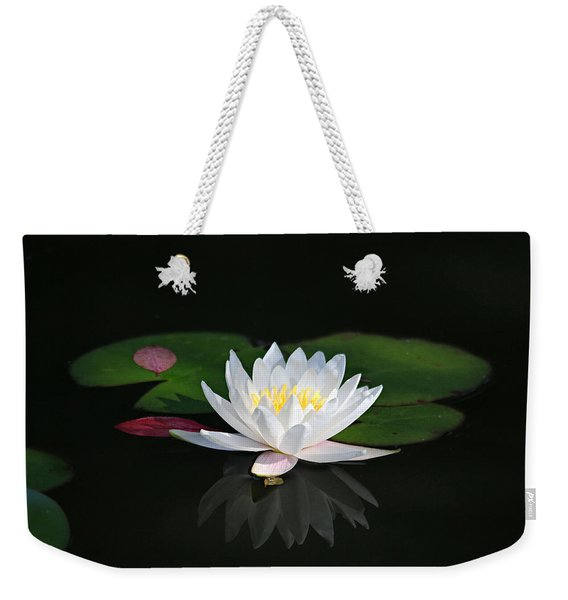 Reflections Of A Water Lily Weekender Tote Bag