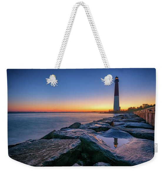 Reflections Of Barnegat Light Weekender Tote Bag