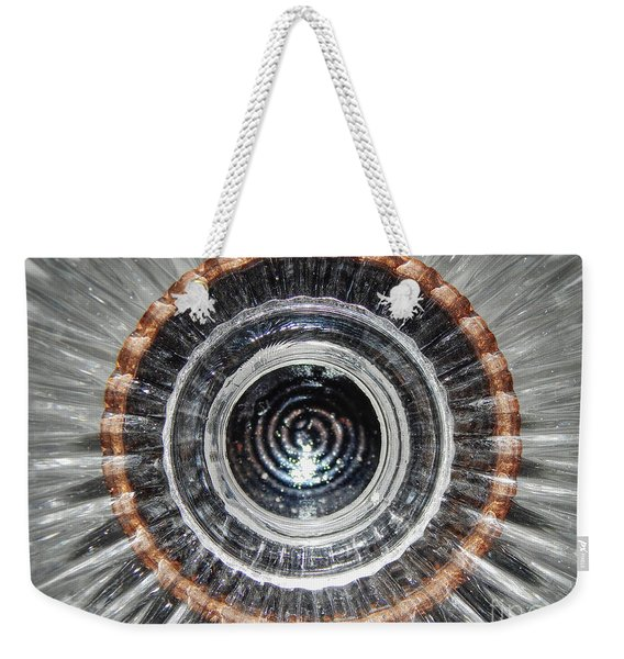 Reflections Of Glass And Pottery Weekender Tote Bag