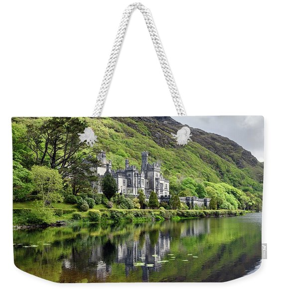 Reflections Of Kylemore Abbey Weekender Tote Bag