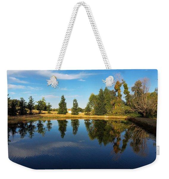 Reflections Of Life Weekender Tote Bag