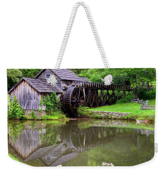 Reflections Of Mabry Weekender Tote Bag