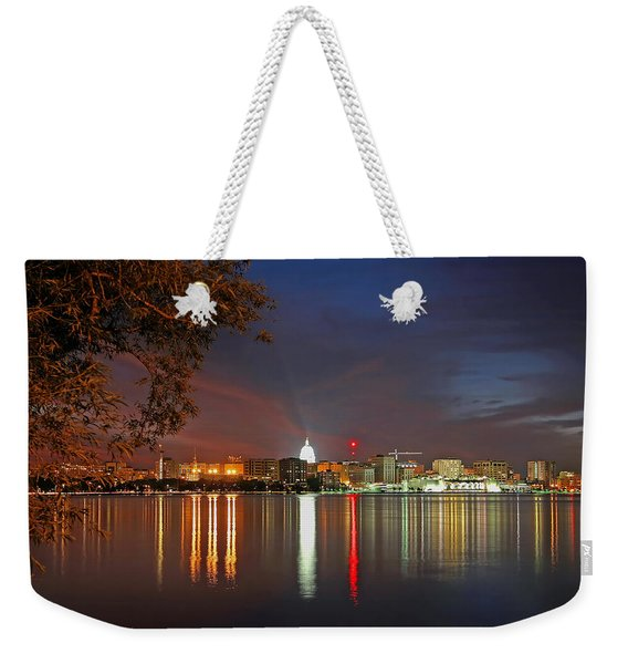 Reflections Of Madison Weekender Tote Bag