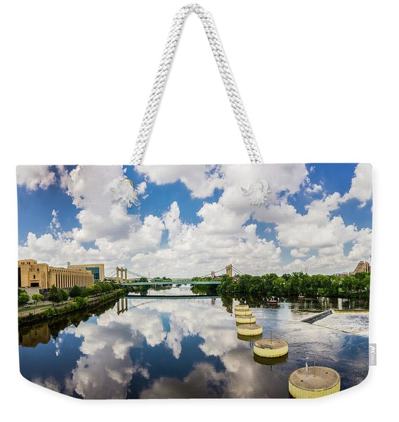Reflections Of Minneapolis Weekender Tote Bag
