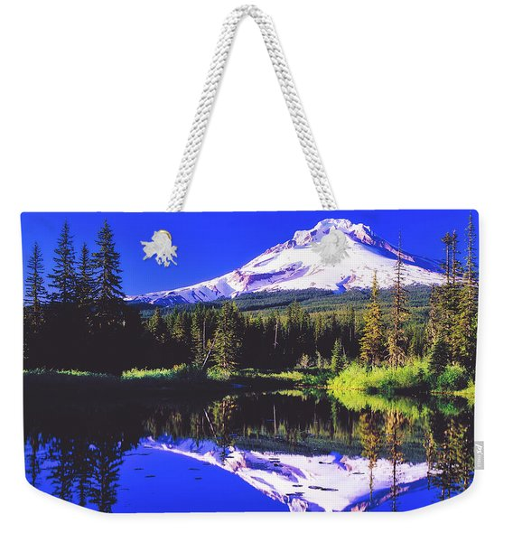Reflections Of Mount Hood Weekender Tote Bag