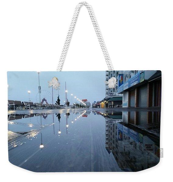 Reflections Of The Boardwalk Weekender Tote Bag