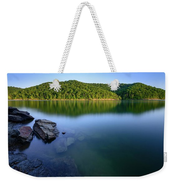Reflections Of Tranquility Weekender Tote Bag