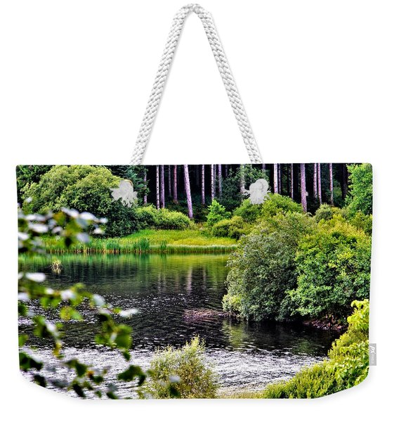 Reflections On Kielder Water Weekender Tote Bag