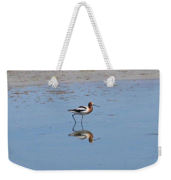Reflections On The Great Salt Lake Weekender Tote Bag